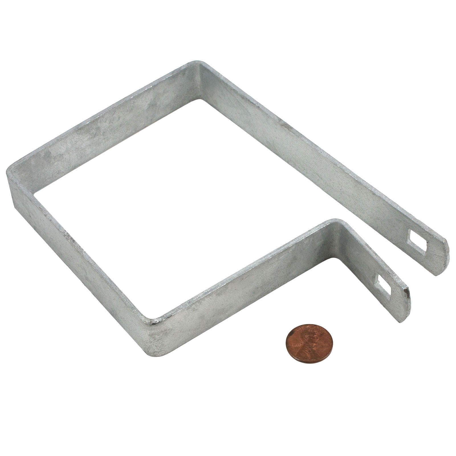 4 Quot Square Tension Band Chain Link 7 8 Quot Galvanized Steel